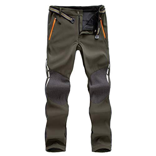 7VSTOHS Pantalon de randonnée Confortable pour Hommes Pantalon Chaud...