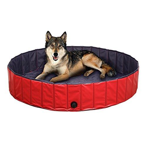 FEMOR Doggy Pool das Planschbecken Hundepool Swimmingpool für den Hund 3 Größe (120*30cm)