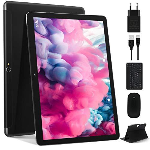 Tablet 10 Pollici Pi Recente Android 10.0: Tablet PC MEBERRY Multi-Accessori con 4 GB di RAM + 64 GB...