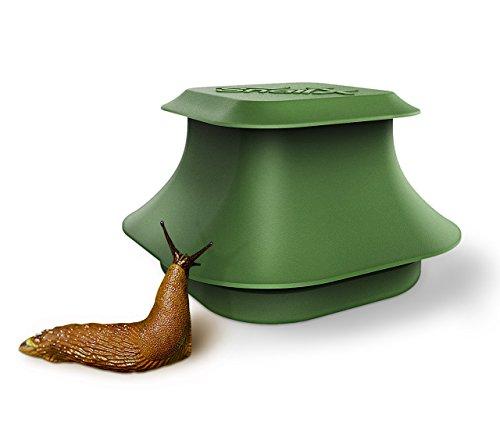 SnailX Schneckenfalle Set - Falle und Lockmittel | Saubere Schneckenbekämpfung | Schneckenschutz für Garten, Haus und Hochbeet (80{8453b982476824099951633516184478ed88f4fcac0cfa3cba01b41a0748e458} weniger Schneckenkorn nötig)