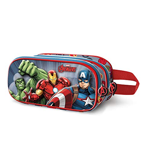 Karactermania The Avengers Force-3D Doppelfedermppchen Astuccio, 22 cm, Multicolore (Multicolour)