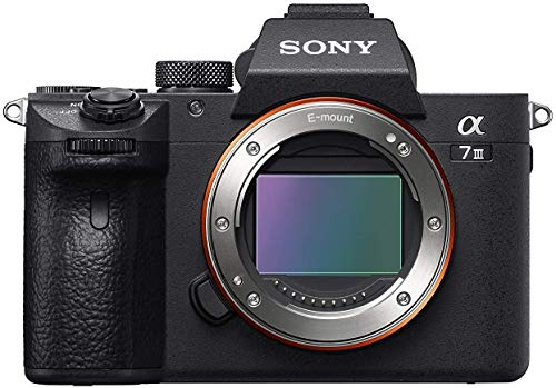 Sony Alpha 7 III | Spiegellose Vollformat-Kamera ( Schneller 0,02s AF, optische 5-Achsen-Bildstabilisierung im Gehäuse, 4K HLG Videoaufnahmen, große Batteriekapazität), Schwarz