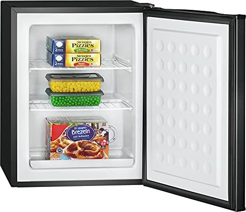Bomann GB 7236 - Contenitore per congelatore, capacit 42 litri, con griglia estraibile, vassoio raccogli acqua di talpa, colore: Nero