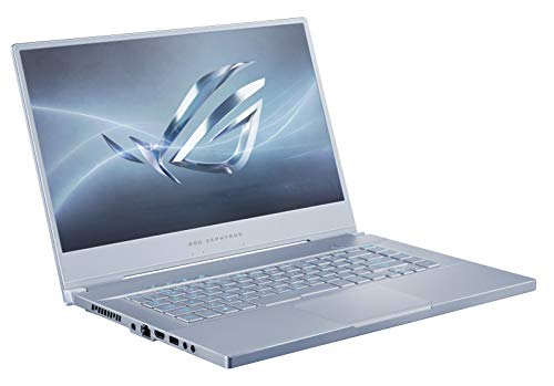 "ROG Zephyrus M Thin and Portable Gaming Laptop, 15.6"" 240Hz FHD IPS, NVIDIA GeForce GTX 1660 Ti, Intel Core i7-9750H, 16GB DDR4 RAM, 512B PCIe SSD, Per-Key RGB, Windows 10 Pro, GU502GU-XH74-BL, Blue"