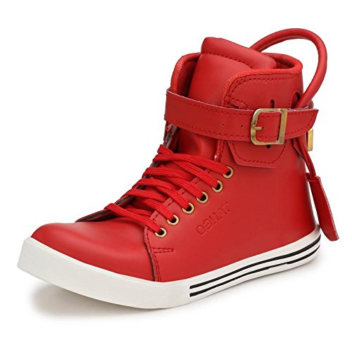 Parmar foot style Men's Sneaker Hip Hop Shoe_9 UK