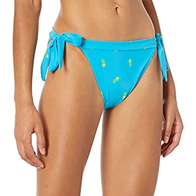 Quick-dry knit fabric with UPF 50 for sun protection Bikini-style swimsuit bottom Side-tie swimsuit bottom An Amazon brand
