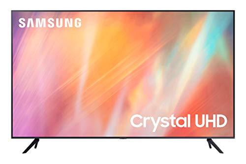 Samsung UE43AU7175UXZT Smart TV 43' Crystal UHD 4K, Processore Crystal 4K, HDR, Wi-Fi, New skinny bezel design, Titan Grey, 2021, compatibile con Alexa e Google Assistant