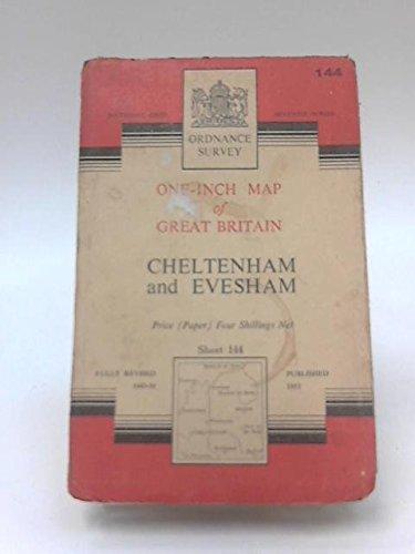 One-Inch Map of Great Britain Sheet 144 Cheltenham and Evesham