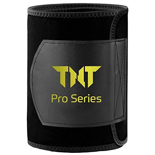TNT Pro Series Waist Trimmer Weight Loss Ab Belt - Premium Stomach Wrap and Waist Trainer