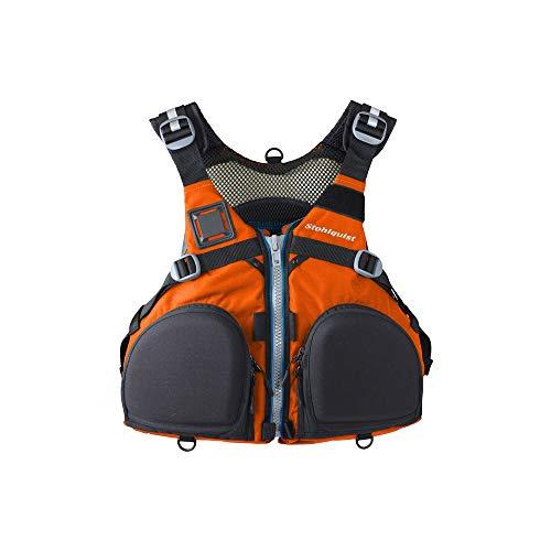 Stohlquist Fisherman Lifejacket (PFD)-Orange-S/M