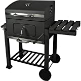 ACTIVA ANGULAR Barbecue Chariot de barbecue au charbon de bois