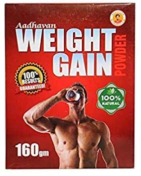 Hindustan A/U Products Aadhavan Weight Gain Powder (160 gm) and Liver Syrup 100 ml