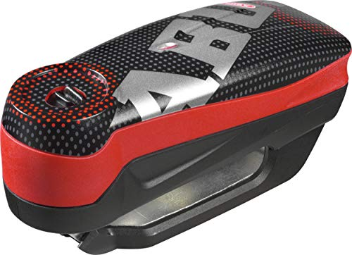 ABUS(アブス) バイク用ディスクロック ピクセルレッド ディテクト7000RS1 (Detecto7000 RS1)