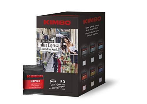 Kimbo Capsule di Caffè Compatibili Lavazza Espresso Point - 50 Capsule