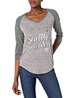 Super soft and lightweight blended fabric (50% Polyester, 38% Cotton, 12% Rayon) creates a unique, athletic texture Rib collar to retain shape over time; Side seams and tagless neckline; Premium quality and construction Distressed screen print graphi...