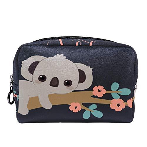 TIZORAX - Neceser para mujer, diseño de flores de koala