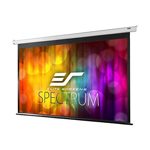 Elite Screens Spectrum Series Electric Projector Screen Review- The Best Electric Projector Screen