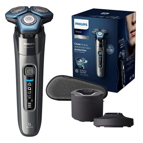 Philips Shaver series 7000 - Rasoio elettrico Wet & Dry da uomo, Modello S7788/55