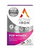 Image of Active Iron & B-Complex Plus For Women 30 Iron Tablets & 30 Vitamin B Tablets | Iron Supplement With Vitamin B Complex Formula | Non-Constipating Absorption | Scientifically-Tested | 1-Month Supply