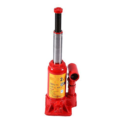 GOTOTOP Hydraulischer Wagenheber Jack Flasche, 2T/3T/5T/8T (2T)