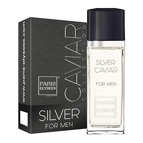 Eau de Toilett Silver Caviar, Paris Elysees, 100 ml