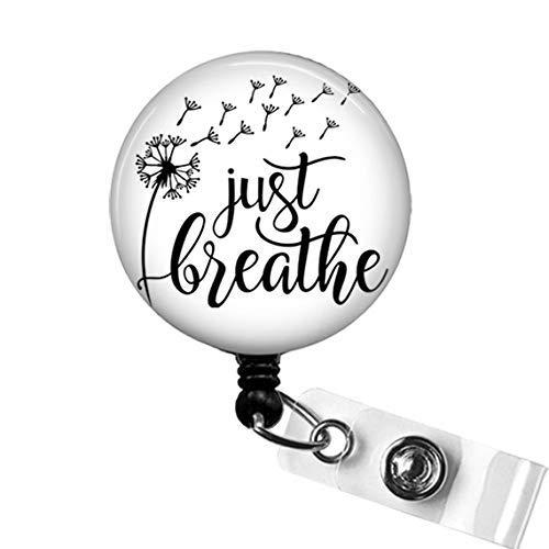 Just Breathe Badge Reel, Medical Badge Reels, RT Gifts,...