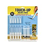 Slobproof SLB002 Fillable Brush Pens for Interior Touch Ups to Drywall, Cabinets & Furniture   Store House, Wall Paint & Wood Paint Fresh Inside for 7 Years, 5-Pack