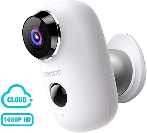 Wireless Outdoor Security Camera, CONICO 1080P...