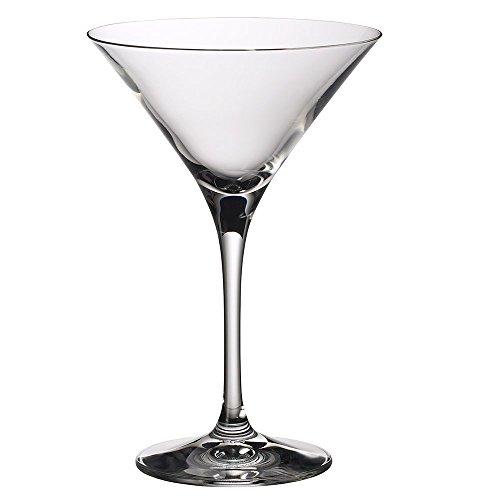 Villeroy & Boch – Purismo Bar bicchiere da Martini set da 2, bicchiere da cocktail di alta qualità in cristallo, lavabile in lavastoviglie, 240 ml