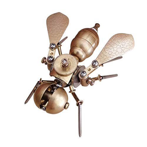 YDDY 3D Metal Puzzle Insect Series 3D Metal Bee Model Kits for Adult - Assembled Steampunk Model (Kitchen & Home)