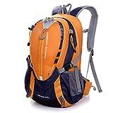 RatenKont Escalada Impermeable 25L Bolsa de Deportes al Aire Libre Viaje Camping Senderismo Mochila Trekking Bag Orange Color