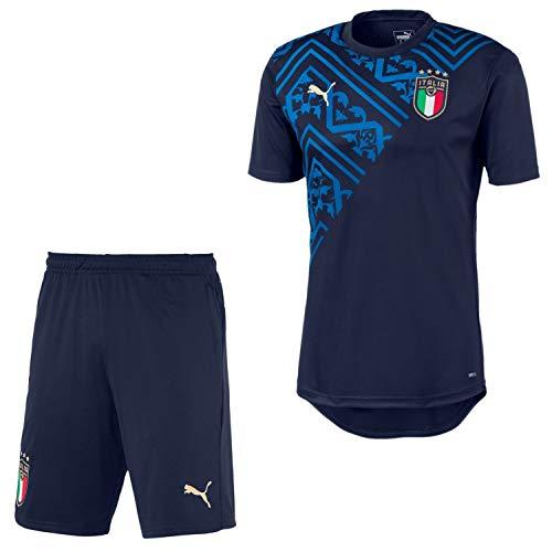 PUMA Italien Trikot + Short im Set Herren WM 2020 (2021), Größe:M