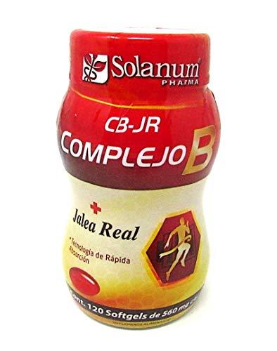 Complejo B + Jalea real 120 softgels Solanum Pharma
