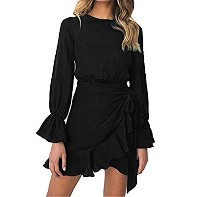 """Material:Polyester,Cotton--The stretchy knit material provides you with a Soft, lightweight and comfortable wear Size detail:S Bust 33"""",Length 33.4"""",Waist 29.9"""",M Bust 34.6"""",Length 34.2"""",Waist 31.8"""",L Bust 36.2"""",Length 35"""",Waist 33.8"""".,XL Bust 37.8"""",..."""