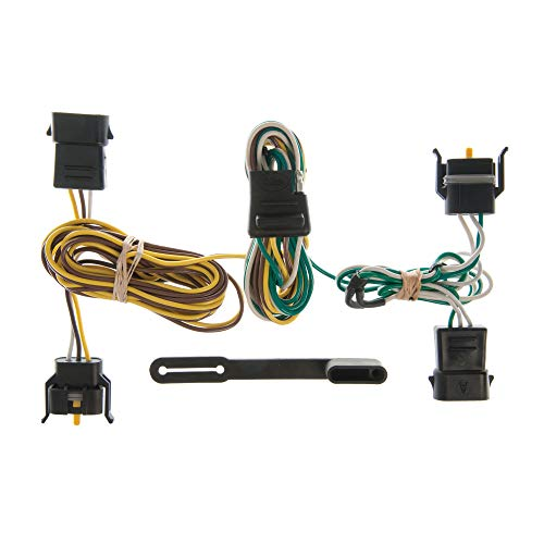 CURT 55344 Vehicle-Side Custom 4-Pin Trailer Wiring Harness for Select Ford, Lincoln, Mercury Vehicles