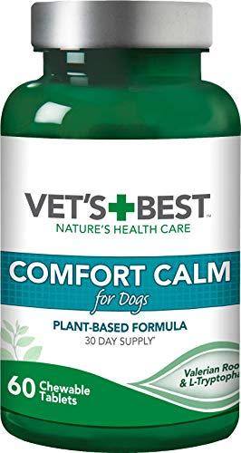 Vet's Best Suplementos para Perros calmantes de Calma Confort -...