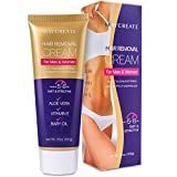 Maycreate Hair Removal Cream, Depilatory Cream, Hair Remover for Men and Women, Natural Painless Hair Removal Cream, Used on Bikini, Underarm, Chest, Back, Legs and Arms