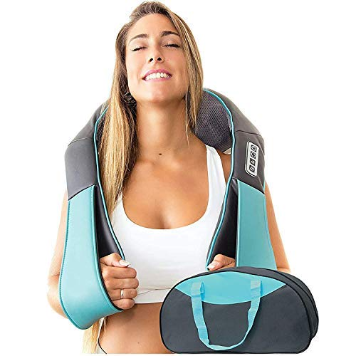 Shiatsu Neck and Back Massager with Soothing Heat, InvoSpa...