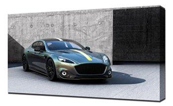 Pingoo Prints Aston Martin Rapide Amr Electric Cars 14687 Art Print, Canvas, 60 x 90 x 5 cm