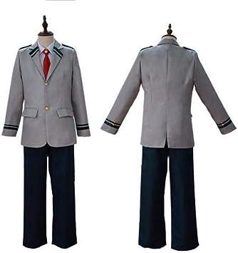 Disfraz de My Hero Academia Disfraz de Japón Traje de manga larga Uniforme de cosplay Uniforme de anime Uniforme de colegio universitario Traje Juego de roles Rendimiento para estudiante adulto