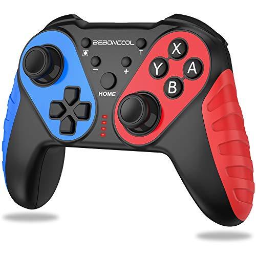 BEBONCOOL NFC Controlador para Nintendo Switch con Amiibo Wireless...