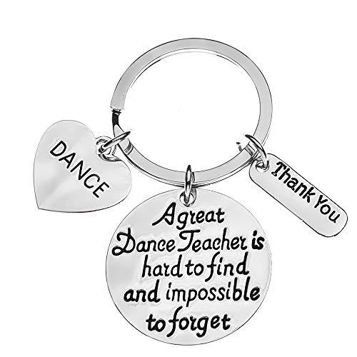 Sportybella Dance Teacher Gift, Dance Teacher Keychain-...