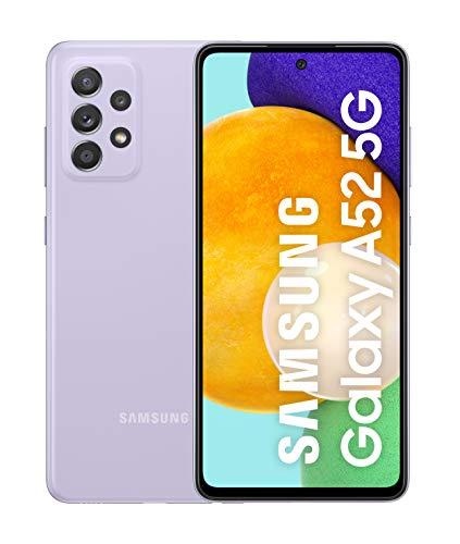 Samsung Smartphone Galaxy A52 5G con Pantalla Infinity-O FHD+ de...