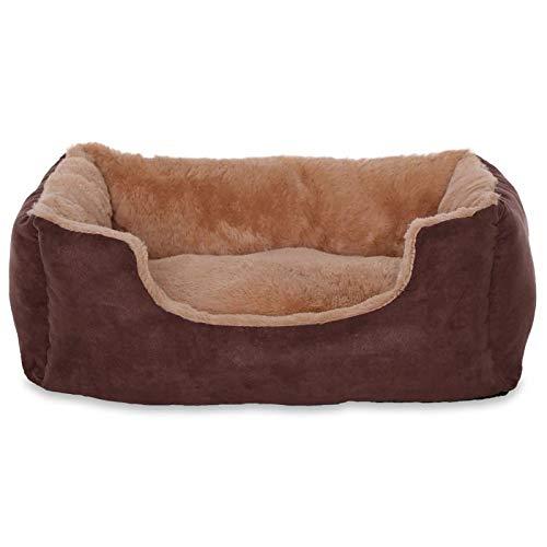 dibea DB00530, Letto per Cani, Divano morbido, Velluto, cuscino reversibile (S) 50 x 37 cm,...
