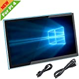 For Raspberry Pi 4 Screen, 5 inch HDMI Capacitive Touch Screen Monitor - 800x480 HD LCD Display(Support Pi 4 & Pi 3 B+, Windows)