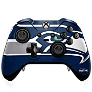 Ultra-Thin, Lightweight Xbox One Elite Controller Vinyl Decal Protection Officially Licensed NFL Design Industry Leading Vivid Color Vinyl Print Technology on your Seattle Seahawks Large Logo skin Scratch - Resistant. Built To Last Everday Xbox One E...