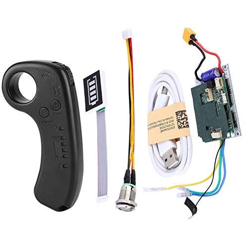 Kit ESC de planche à roulettes électrique bricolage, planche à roulettes électrique Longboard carte mère de commande de remplacement ESC à entraînement unique avec contrôleur de planche à roulettes à