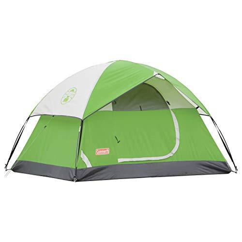 Coleman Sundome 6 Tent, 6 man Family Camping Tent with Fibreglass poles, 600 mm Water Column