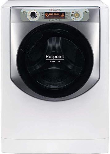 Hotpoint AQ107D 49D IT, Lavatrice a Carica Frontale a Libera Installazione, A+++-40%, 10kg, 1400 Giri/Min,...