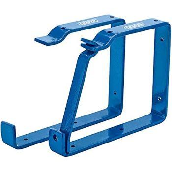 Draper 24808 Universal Step Wall Ladder Rack Brackets Security/Securing Lock, 23x16.5x2.5 cm, Blue